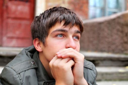 Boy realizing that detox centers in Maryland may not be the best choice for drug and alcohol detox